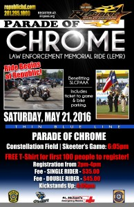 PARADE OF CHROME 2016